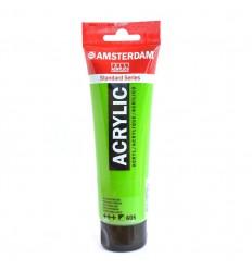 Акриловая краска AMSTERDAM ROYAL TALENS туба 120мл, цвет №605 Зеленый яркий