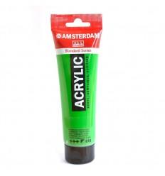 Акриловая краска AMSTERDAM ROYAL TALENS туба 120мл, цвет №618 Зеленый светлый устойчивый