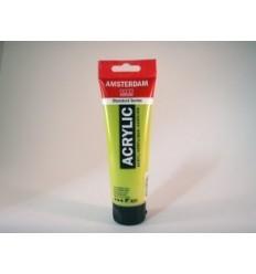 Акриловая краска AMSTERDAM ROYAL TALENS туба 120мл, цвет №621 Зеленый оливковый светлый