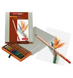 Набор цветных карандашей Bruynzeel DESIGN, 12 цветов, в подарочной упаковке