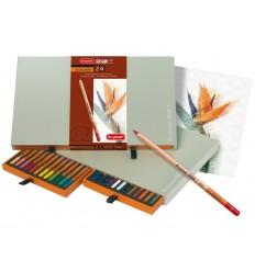 Набор цветных карандашей Bruynzeel DESIGN, 24 цвета, в подарочной упаковке