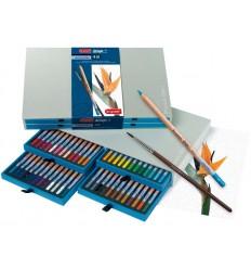 Набор цветных акварельных карандашей Bruynzeel DESIGN, 48 цветов, кисть, в подарочной упаковке