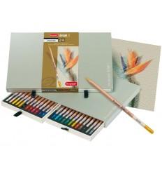 Набор цветных пастельных карандашей Bruynzeel DESIGN, 24 цвета, в подарочном пенале