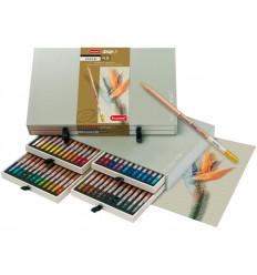 Набор цветных пастельных карандашей Bruynzeel DESIGN, 48 цветов, в подарочном пенале