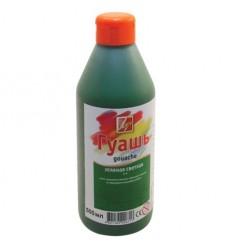 Гуашь художественная ЛУЧ, 500мл (670г), пластиковая бутылка с дозатором, Зеленая светлая