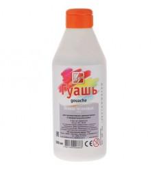Гуашь художественная ЛУЧ, 500мл (830г), пластиковая бутылка с дозатором, Белила титановые