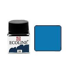 Акварель жидкая Ecoline Royal Talens, банка 30мл., Цвет № 508 Прусский синий