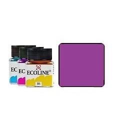 Акварель жидкая Ecoline Royal Talens, банка 30мл., Цвет № 545 Красно-фиолетовый