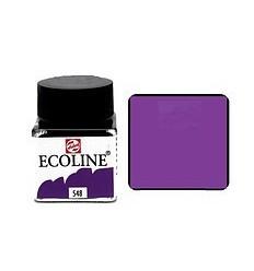 Акварель жидкая Ecoline Royal Talens, банка 30мл., Цвет № 548 синий фиолетовый