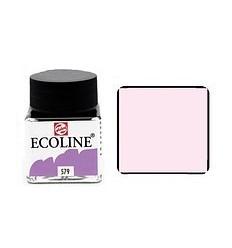 Акварель жидкая Ecoline Royal Talens, банка 30мл., Цвет № 579 Пастельный фиолетовый