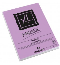 Альбом для маркеров CANSON Xl Marker А4 21*29.7см, 70гр. 100л., бумага белая гладкая, спираль