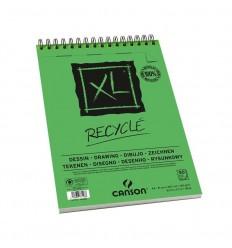 Альбом для графики CANSON Xl Recycle А5 14.8см*21см, 160гр. 25л., переработанная мелкозернистая бумага, спираль
