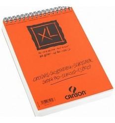 Альбом для графики CANSON Xl Croquis А4 21*29.7см, 90гр. 60л., бумага слоновая кость мелкозернистая, спираль