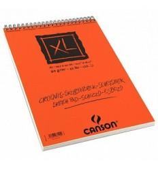Альбом для графики CANSON Xl Croquis А3 29.7*42см, 90гр. 60л., бумага слоновая кость мелкозернистая, спираль