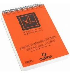 Альбом для графики CANSON Xl Croquis А2 42*59.4см, 90гр. 60л., бумага слоновая кость мелкое зерно, спираль
