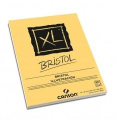 Альбом для графики CANSON Xl Bristol А4 21*29.7см, 180гр. 50л., бумага слоновая кость мелкозернистая, склейка