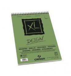 Альбом для графики CANSON Xl Dessin А4 21*29.7см, 160гр. 50л., бумага мелкое зерно, спираль