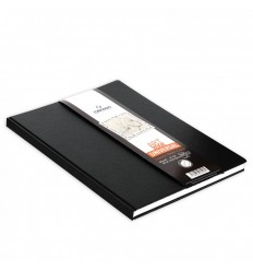 Скетчбук CANSON UNIVERSAL ART BOOK А4 21.6*27.9см, 96гр. 112л., твердая обложка, застежка-резинка