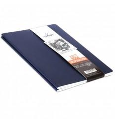 Скетчбук CANSON Inspiration А6 10.5*14.8см, 96гр. 24л., мягкая обложка индиго/голубой 2шт