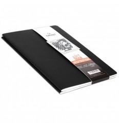 Скетчбук CANSON Inspiration А6 10.5*14.8см, 96гр. 24л., мягкая обложка черный/серый 2шт