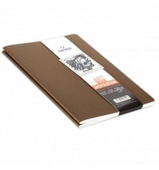 Скетчбук CANSON Inspiration А5 14.8*21см, 96гр. 30л., мягкая обложка конопляный/бежевый 2шт
