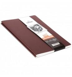 Скетчбук CANSON Inspiration А5 14.8*21см, 96гр. 30л., мягкая обложка бордовый/терракотовый 2шт