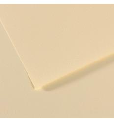 Бумага для пастели CANSON Mi-Teintes  21*29.7см 160гр., Цвет №101 Желтый бледный, 50л/упак,