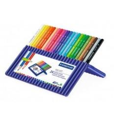 Набор треугольных цветных карандашей STAEDTLER Ergosoft, 24 цвета
