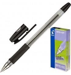 Ручка шариковая масляная Pilot BPS-GP-EF (0.25 мм) черная