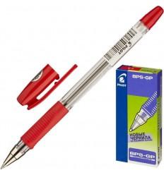 Ручка шариковая масляная Pilot BPS-GP-F (0.32 мм) красная