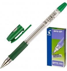 Ручка шариковая масляная Pilot BPS-GP-F (0.32 мм) зеленая