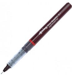 Капиллярная ручка ROTRING Tikky Graphic, 0,1мм, черная