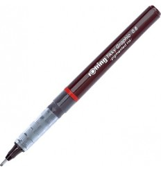 Капиллярная ручка ROTRING Tikky Graphic, 0,8мм, черная