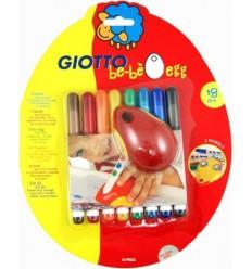 Набор фломастеров GIOTTO BE-BЕ Egg 464100, 8 цветов с держателем