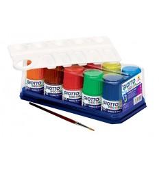 Краски акриловые GIOTTO Decor Acrylic, 10 цветов по 50 мл