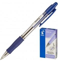 Ручка шариковая масляная автоматическая Pilot BPGP-10R-F (0.32 мм) синяя