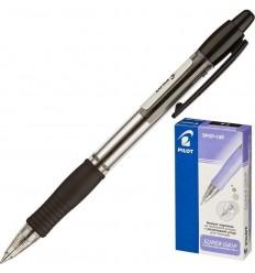 Ручка шариковая масляная автоматическая Pilot BPGP-10R-F (0.32 мм) черная