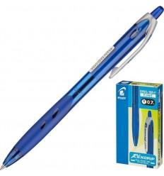 Ручка шариковая масляная автоматическая Pilot BPRG-10R-F Rex Grip (0.32 мм) синяя