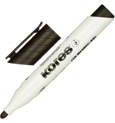 Маркер для досок Kores 20830, круглый наконечник 3мм, черный
