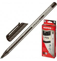 Ручка шариковая Kores К1, 0.7 мм, черная