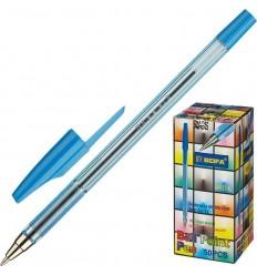 Ручка шариковая Beifa AA 927, 0.5 мм, синяя