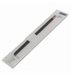 Сменный стержень STAEDTLER Triplus 457 F 0,3 мм, 2шт, черный