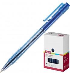 Шариковая ручка автоматическая Attache Bo-bo 0,5 мм, синяя