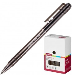 Шариковая ручка автоматическая Attache Bo-bo 0,5 мм, черная