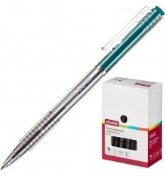 Шариковая ручка автоматическая Attache Bo-bo 0,5 мм, зеленая