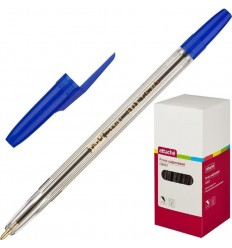 Шариковая ручка масляная Attache Corvet 0,7 мм, синяя