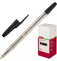 Шариковая ручка масляная Attache Corvet 0,7 мм, черная