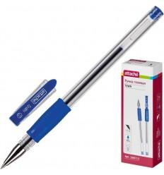Ручка гелевая Attache Town с манжеткой, 0.5мм, синяя