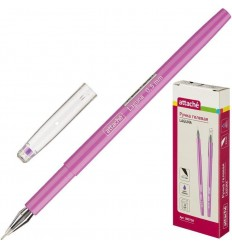 Ручка гелевая Attache Laguna, 0.5мм, фиолетовая