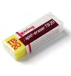 Ластик Rotring Rapid-eraser TВ20 для полимерных и графитовых карандашей